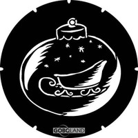 Bauble With Sleigh (Goboland)