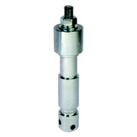 M12 Male TV Spigot (Steel - EURO Spec)