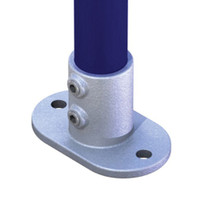Doughty pipeclamp Railing Base Flange