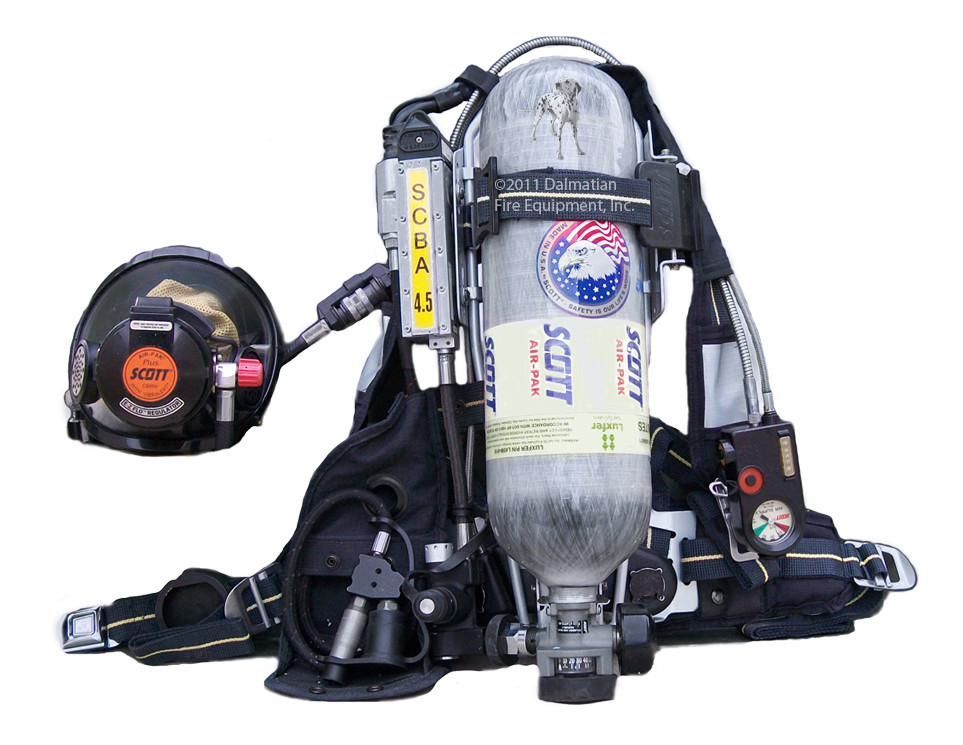 Scott Ap50 Cbrn Refurbished Scba