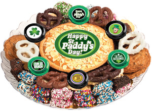 ST. PATRICK'S DAY  - Cookie Pie & Cookie Assortment Platters