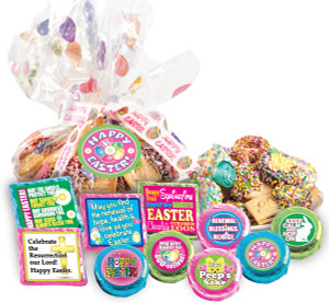 "EASTER/ SPRING - ""Cookie Talk' Message Platters"