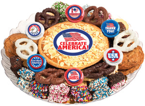AMERICA - Cookie Pie & Cookie Assortment Platters