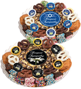 SYMPATHY/ SHIVA - Gourmet Popcorn & Cookie Assortment Platters