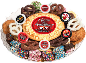 ANNIVERSARY- Cookie Pie & Cookie Assortment Platters
