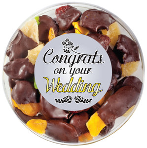 WEDDING  - Chocolate Dipped Dried Mixed Fruit