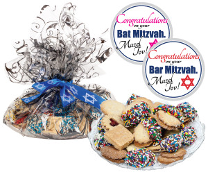 BAR/ BAT MITZVAH - Butter Cookie Assortment
