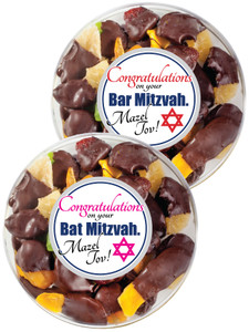 BAR/ BAT MITZVAH - Chocolate Dipped Dried Mixed Fruit