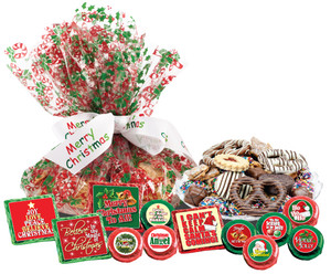 "CHRISTMAS - ""Cookie Talk' Message Platters"