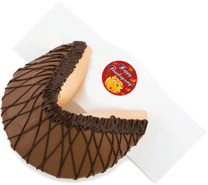 THANKSGIVING- Giant Fortune Cookie