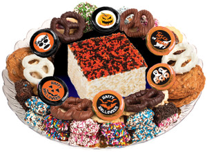 HALLOWEEN - Marshmallow Crispy Treat & Cookie Assortment Platters