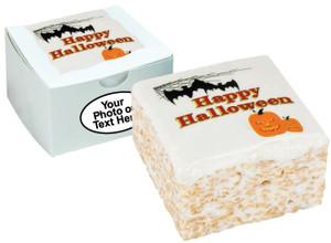 HALLOWEEN - Marshmallow Crispy Cake