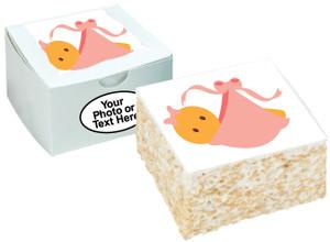BABY GIRL - Marshmallow Crispy Cake SPECIAL ORDER