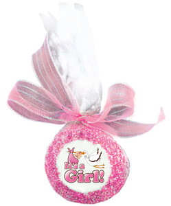 BABY GIRL - Custom Printed Chocolate Oreo Cookies SPECIAL ORDER