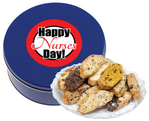 NURSES DAY BISCOTTIS - 1 lb Tin