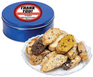 ADMINISTRATIVE PROFESSIONALS DAY  BISCOTTIS - 1 lb. Tin