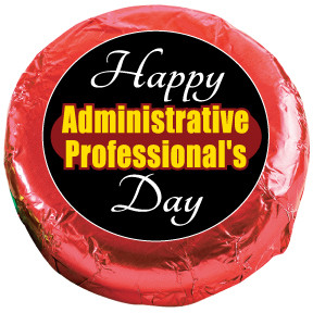 ADMINISTRATIVE PROFESSIONAL Chocolate Oreos - Foil-Wrapped with Messages/Graphics  MANY SIZES AVAILABLE!