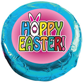 EASTER/ SPRING Chocolate Oreos - Foil-Wrapped with Messages/Graphics  MANY SIZES AVAILABLE!