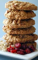 The Cranberry Cinnamon Oatmeal robins cookie