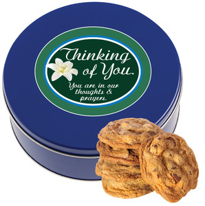 THINKING OF YOU Chocolate Chip Cookie Tin - 1 lb.