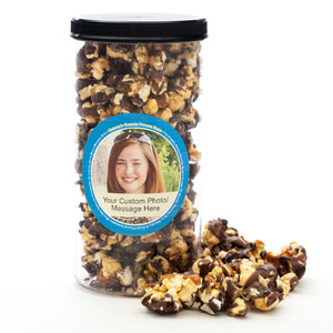 TEACHER'S GOURMET POPCORN - Canister (Customize with any Text, Photo, Logo)