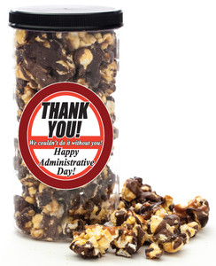 ADMINISTRATIVE ASSISTANT GOURMET POPCORN - Canister (Customize with any Text, Photo, Logo)