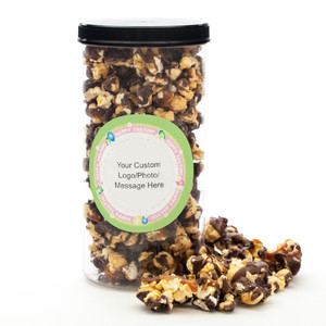 EASTER GOURMET POPCORN - Canister (Customize with any Text, Photo, Logo)