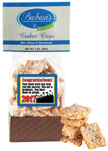 GRADUATION - Cashew Crisps - Can Be Customized