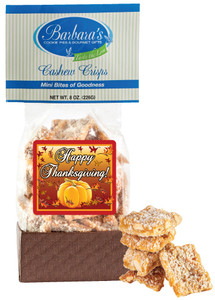 THANKSGIVING - Cashew Crisps - Can Be Customized!