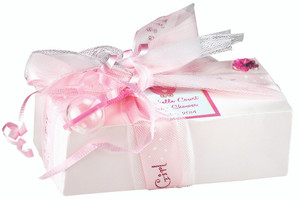 WEDDING FAVORS -  Cookie Petite Pack 1/4 lb. - Customized