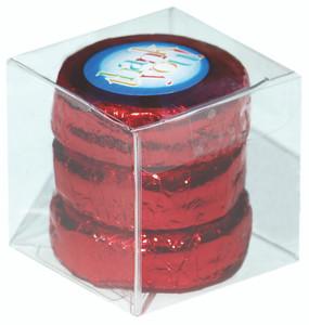 WEDDING /SHOWER FAVOR - CUSTOM CHOCOLATE OREOS TRIOS - Foil-Wrapped with Custom Labels