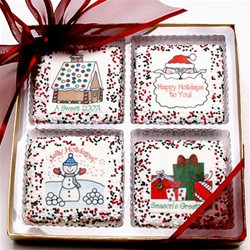 CHRISTMAS / HOLIDAY Chocolate Grahams - Gift Box