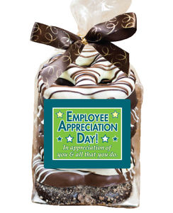 EMPLOYEE APPRECIATION  Gourmet Pretzel Bag - 8 Pc.- Can Be Customized
