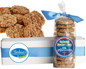 DOCTOR APPRECIATION FRESH-BAKED CRUNCHY & HEARTY COOKIES - 4 Varieties