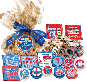 DOCTOR APPRECIATION  PLATTERS- 'Cookie Talk' For Physicians