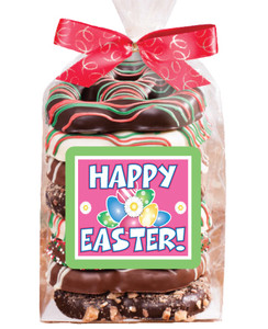 EASTER  Gourmet Pretzel Bag - 8 Pc.- Can Be Customized