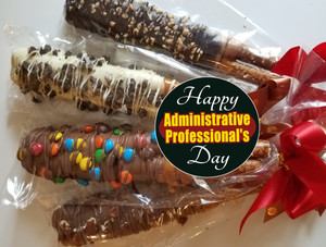 ADMIN PROFESSIONAL  PRETZEL SIZZLE STIX  - Can Be Customized - Singles or Multiples Available