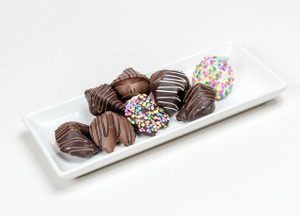 Chocolate Fortune Cookies - Classic Size