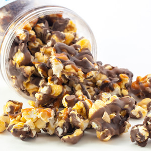 GOURMET POPCORN - Canister (Customize with any Text, Photo, Logo)