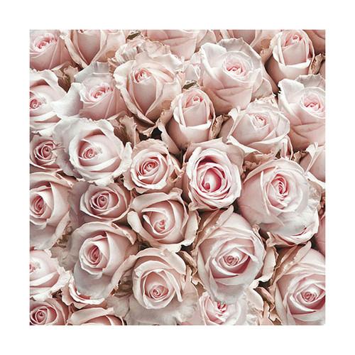 Ambiente 3 Ply Paper Napkins, Pastel Roses - Online Kitchenware