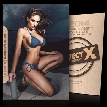 Jaclyn Swedberg / Intense [ ID: E509 #XX ] PROJECT X LIMITED EDITION CARDS