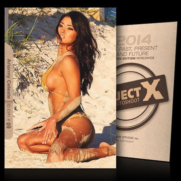 Arianny Celeste / On Beach [ ID: E591 #XX ] PROJECT X LIMITED EDITION CARDS