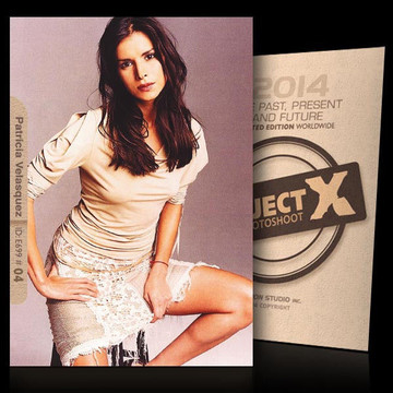 Patricia Velasquez [ ID: E699 #XX ] PROJECT X LIMITED EDITION CARDS