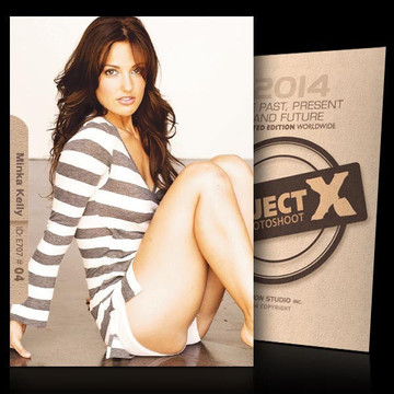 Minka Kelly / In Shorts [ ID: E707 #XX ] PROJECT X LIMITED EDITION CARDS