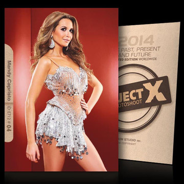 Mandy Capristo [ ID: E712 #XX ] PROJECT X LIMITED EDITION CARDS
