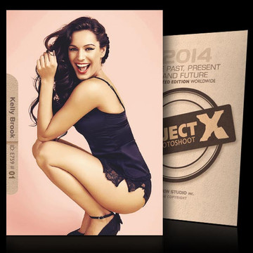 Kelly Brook / Hot Smile [ ID: E759 #XX ] PROJECT X LIMITED EDITION CARDS