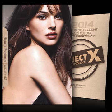 Natalie Portman / Beauty [ ID: E761 #XX ] PROJECT X LIMITED EDITION CARDS
