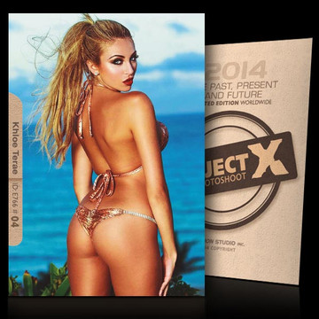 Khloe Terae / Turning Back [ ID: E766 #XX ] PROJECT X LIMITED EDITION CARDS