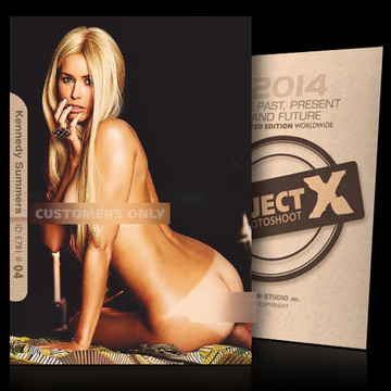 Kennedy Summers / Sensuel Hot [ ID: E781 #XX ] PROJECT X LIMITED EDITION