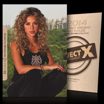 Shakira Mebarak / Simple [ ID: E787 #XX ] PROJECT X LIMITED EDITION CARDS